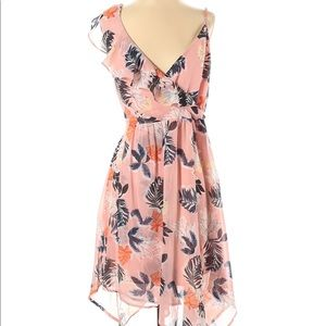 NEW! A New Day Pink Floral Dress